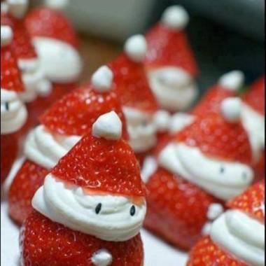 Kerstmannetjes om op te eten