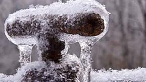 buitenkraan winter